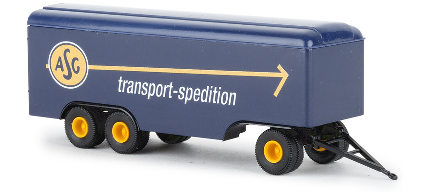 55296 Trailer 3axle box