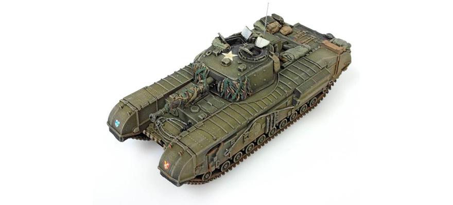 Artitec 387 22 Gauge H0 Churchill Tank Mk VII, 1:87 resin