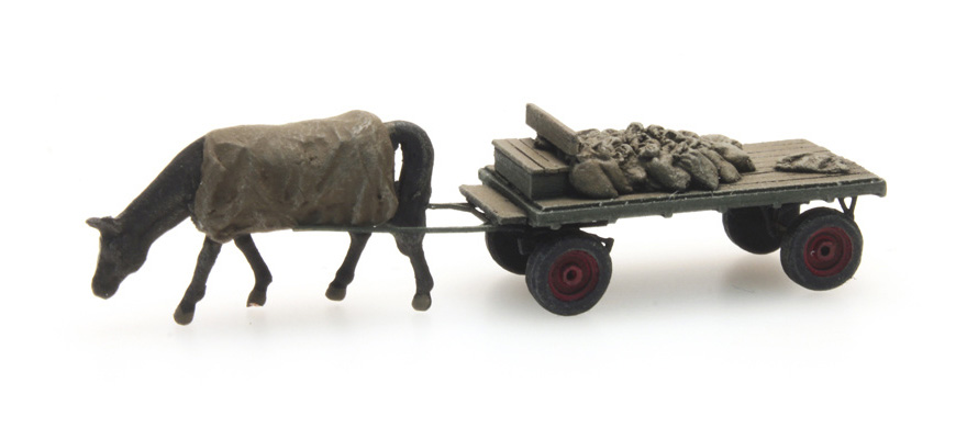 312.012 Coal cart with horse