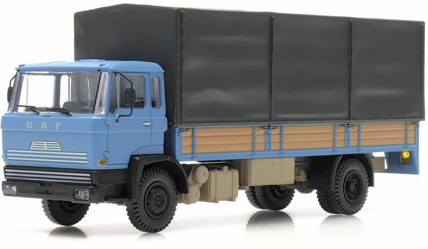 Neu Artitec 487.051.01-1//87 DAF Kipp-Fahrerhaus Pritschen Kab 1970 blau