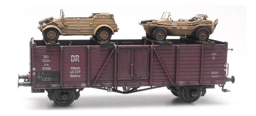 artitec 487 801 66 gauge h0 cargo railway transport k�bel schwimmwagenArtitec #4