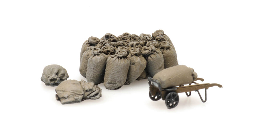 387.450 Train load: linen bags with wagons