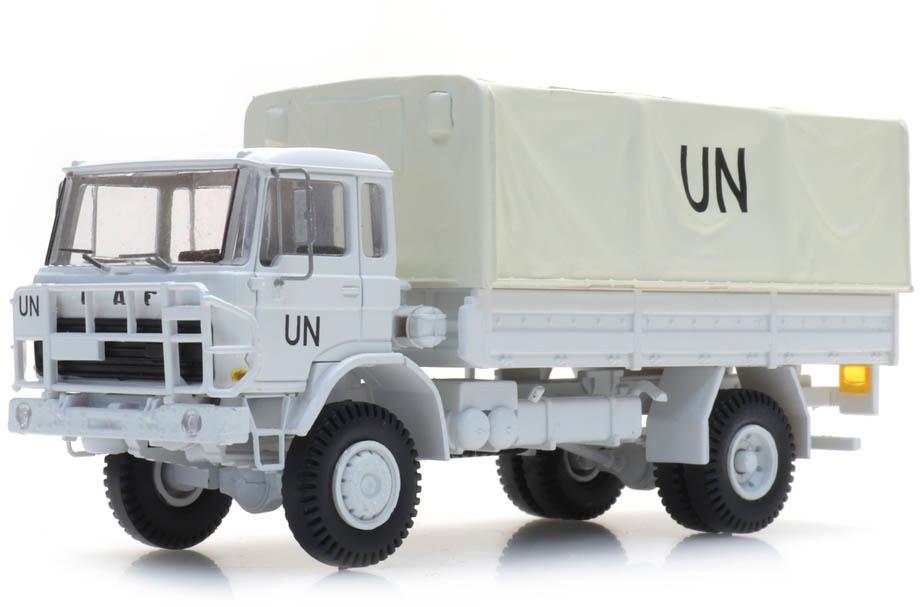 Artitec 487.052.09 NL DAF YA 4442 NL UN weiss H0 1:87 Fertigmodell LKW Pritsche