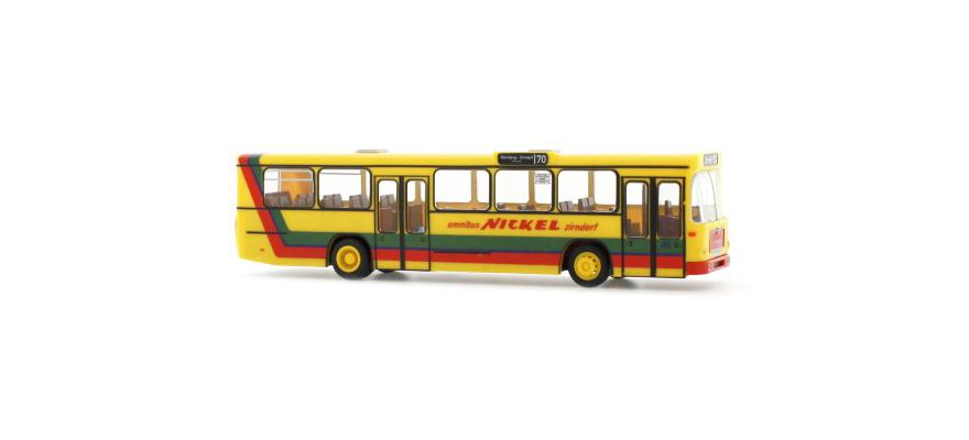 Rietze autobús urbano Man sl 200 nuremberg transporte AG 72300