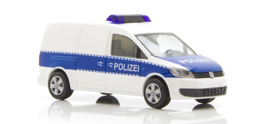 rietze 52707 volkswagen caddy maxi 39 11 polizei d. Black Bedroom Furniture Sets. Home Design Ideas