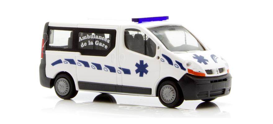 rietze 51388 spur h0 renault trafic ambulance fr. Black Bedroom Furniture Sets. Home Design Ideas