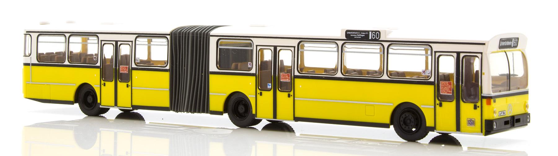 Rietze Gelenkbus MB O 305 G SSB Stuttgart 74510