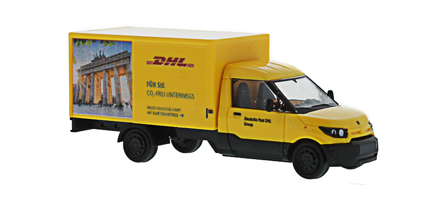 modellbahnshop rietze 33002 streetscooter dhl berlin. Black Bedroom Furniture Sets. Home Design Ideas
