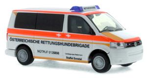 H0 Land Rover Defender Neu Rettungshundestaffel Busch 50370-1//87