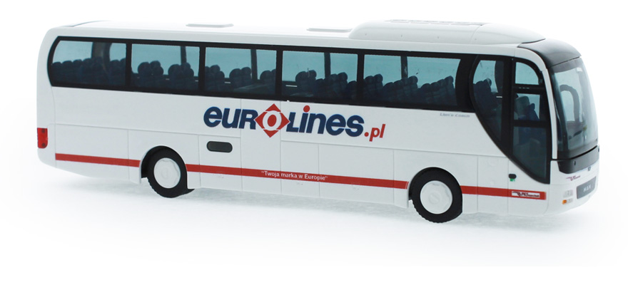 "65556 MAN Lion's Coach '15 ""Eurolines"""