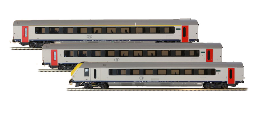 Ls Models 43047 Spur H0 3tlg Steuerwagenset I11 Neue Nummer Uic