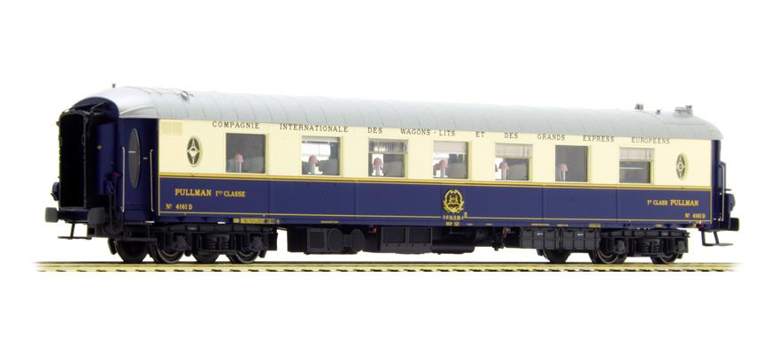 Ls Models 99121 Spur H0 Salonwagen Ciwl Pullman Wp Blaucreme